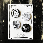 THE MOTEL WEIRDOS button set