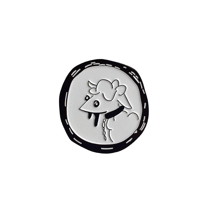 LEADER OF THE PACK enamel pin
