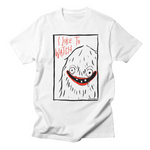 I LIKE TO WATCH - white unisex tee