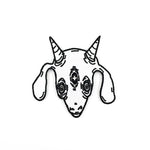 THREE EYED GOAT patch
