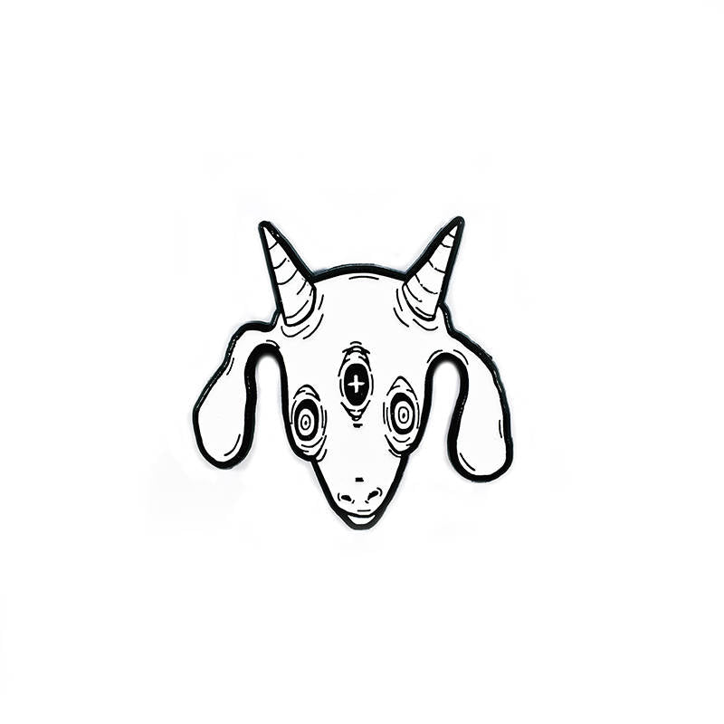 THREE EYED GOAT v.3 pin