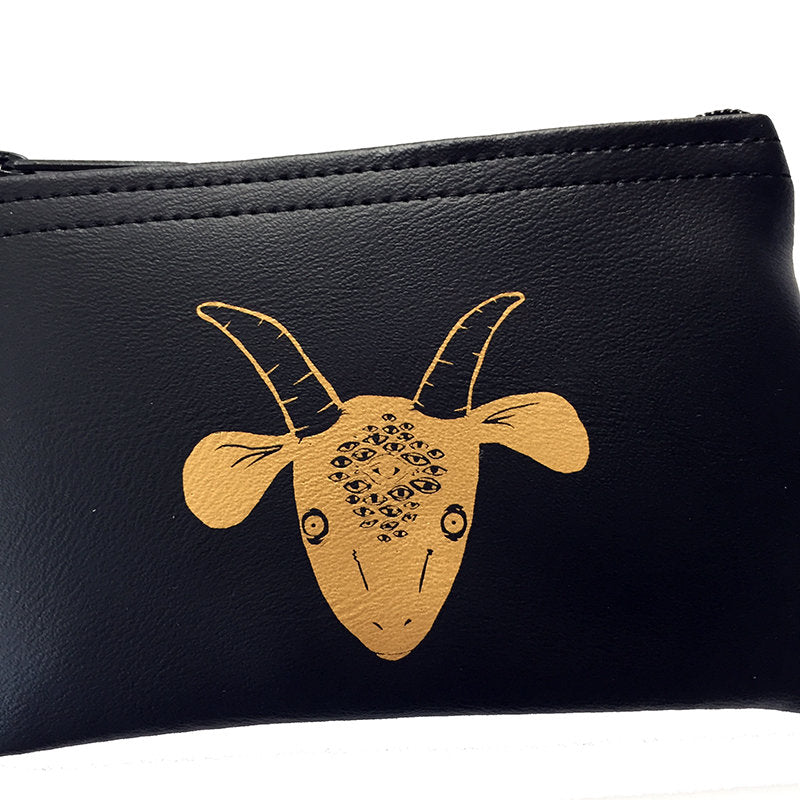 GOATEYES - small zippered pouch
