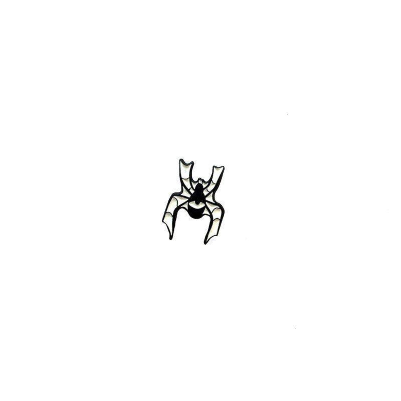 WATCHING SPIDER v2 - tiny glow in the dark enamel pin