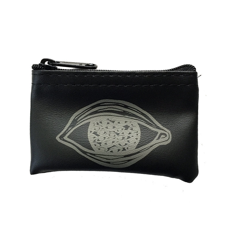 EYE IN EYES - mini zippered pouch