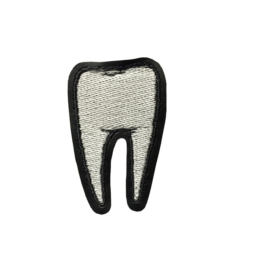 TOOTH #2 patch - glow in the dark