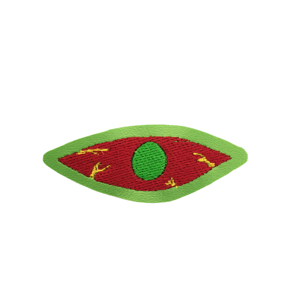 BLOODSHOT EYE embroidered patch - Barraband