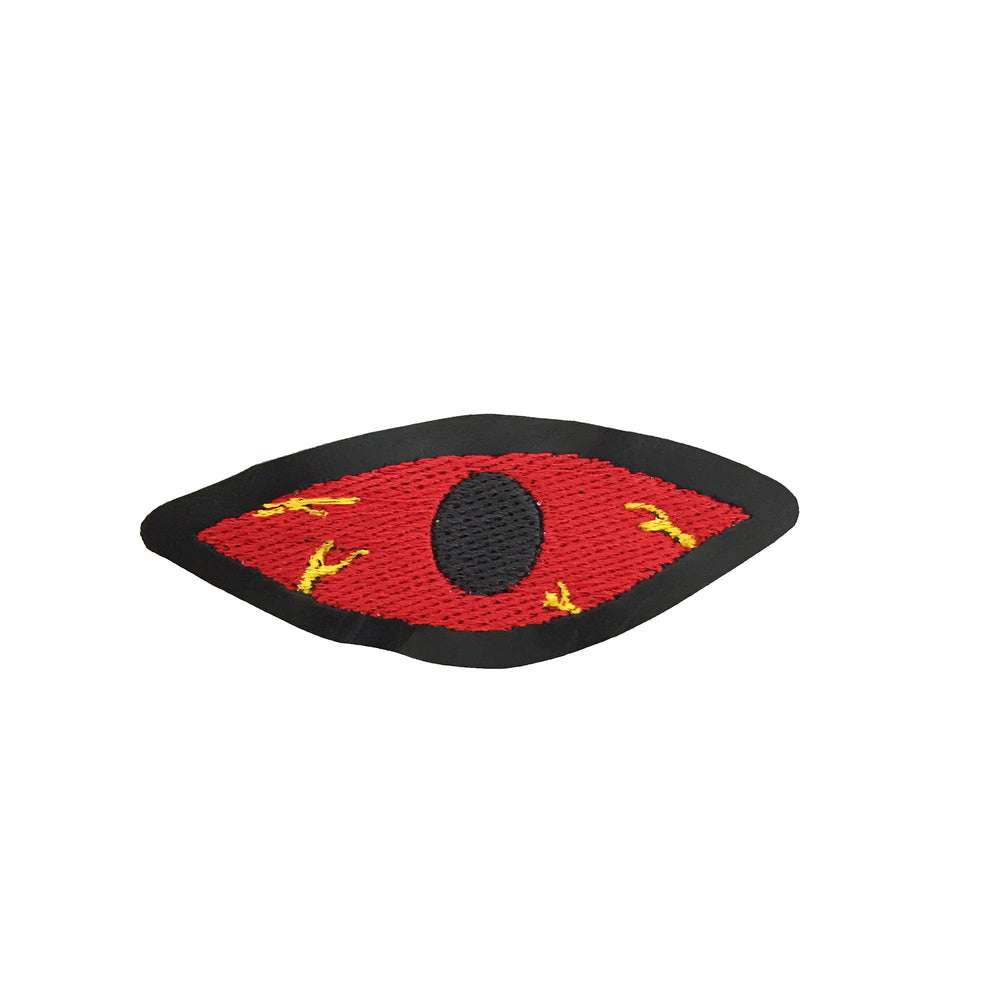 BLOODSHOT EYE embroidered patch - Argiope