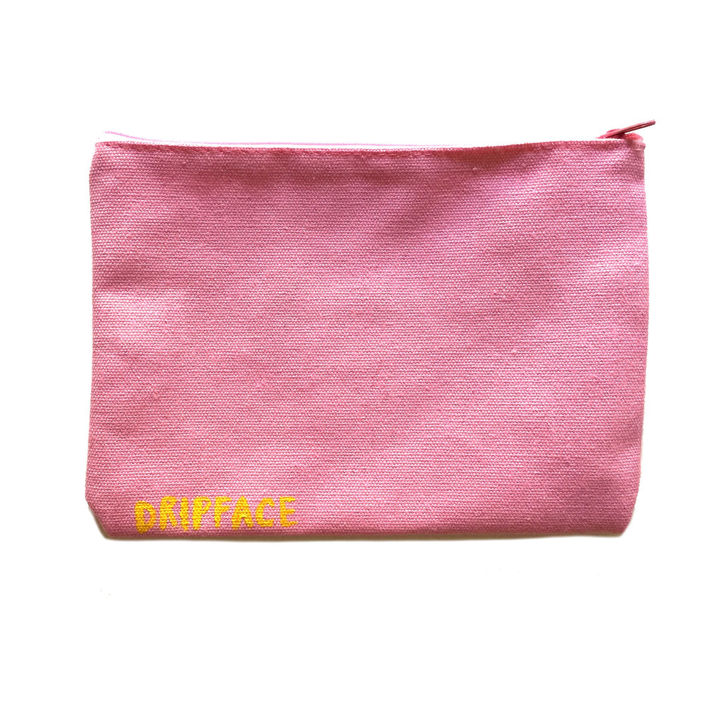 PEEPERS zip bag - handpainted pouch