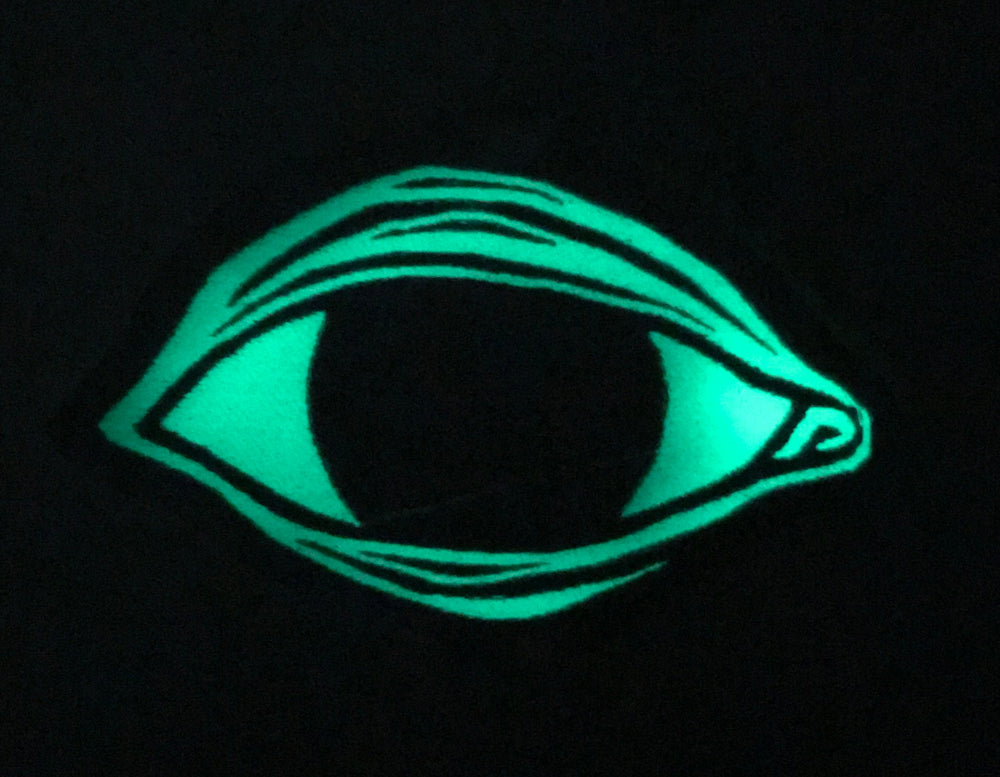 MASTER EYE back patch - glow in the dark