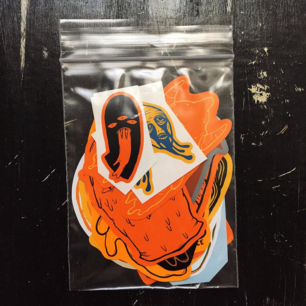 ORANGE - sticker pack