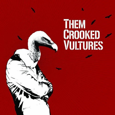 Self-Titled Vinyl - Them Crooked Vultures