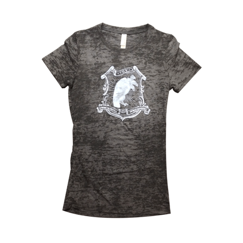 Impossible Womens Tee (Black) - Them Crooked Vultures