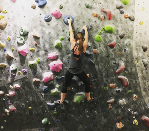Bouldering at The Hive