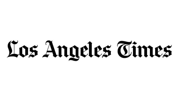 Los Angeles Times press logo - Image