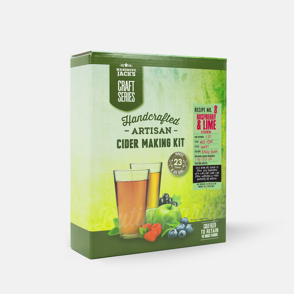 MJ Raspberry & Lime Cider