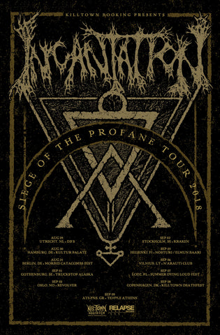 --- Siege of the Profane European Tour ---