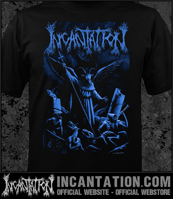 Incantation - Upon The Throne - Goat [Guys Shirt]