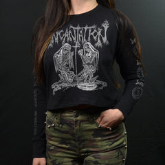 INCANTATION - Deliverance of Horrific Prophecies (Long Sleeve Crop)