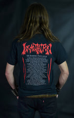 INCANTATION -  Crucifixion 2019 US Tour (T-SHIRT)