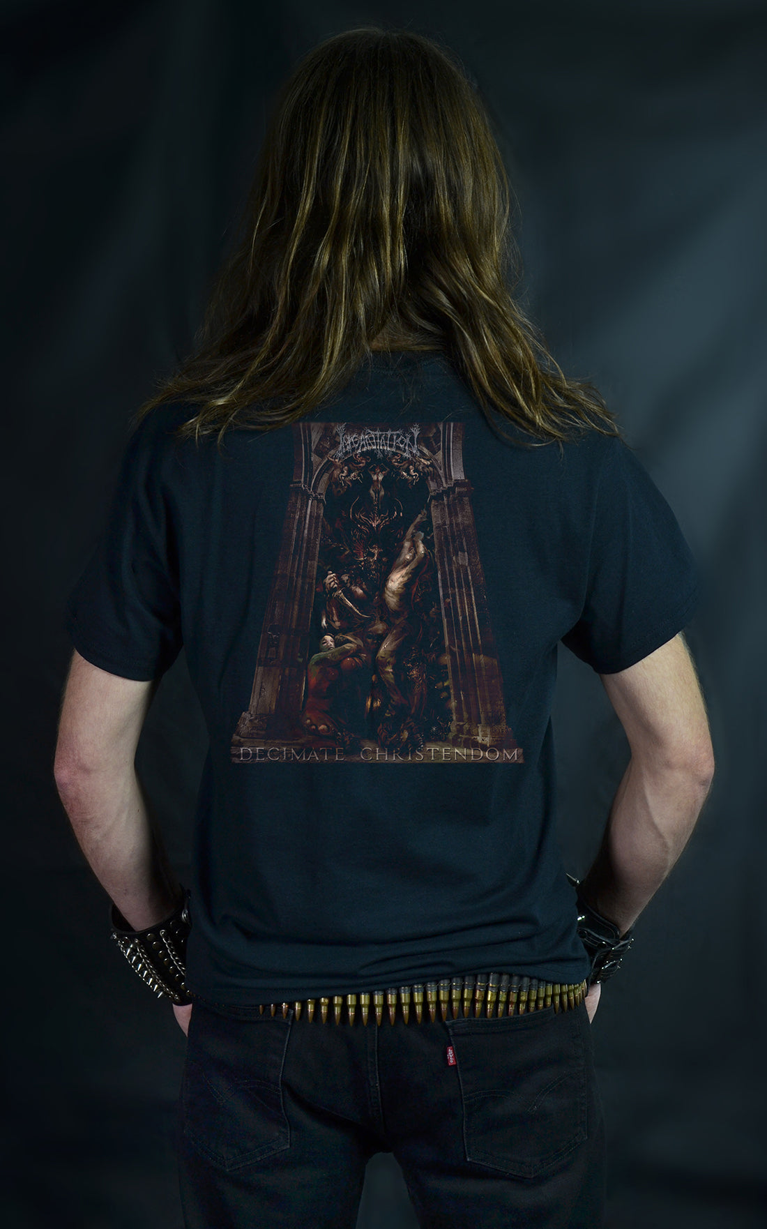INCANTATION - Decimate Christendom (T-SHIRT -OR- GIRLIE)