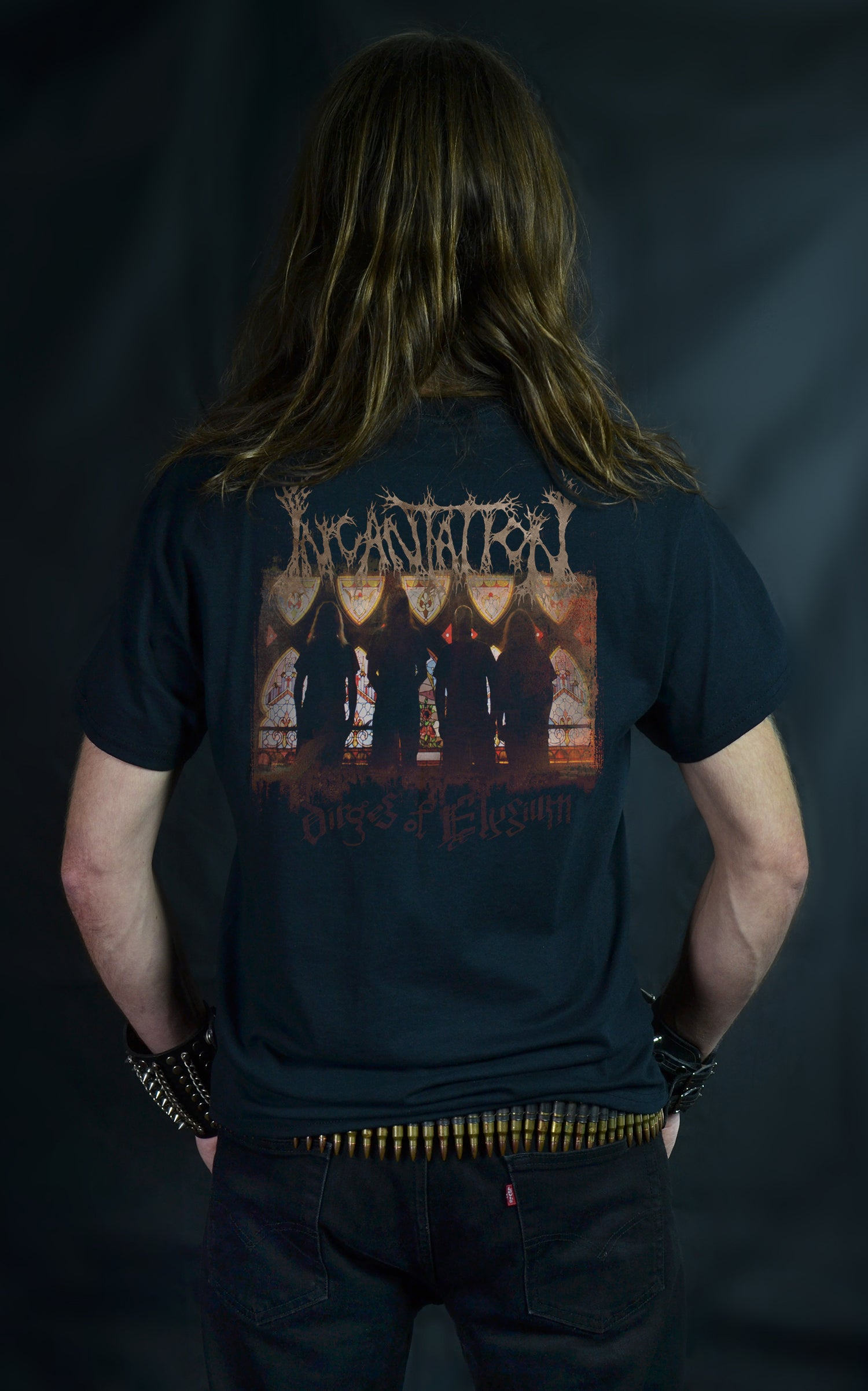 INCANTATION - Dirges of Elysium (T-SHIRT -OR- GIRLIE)