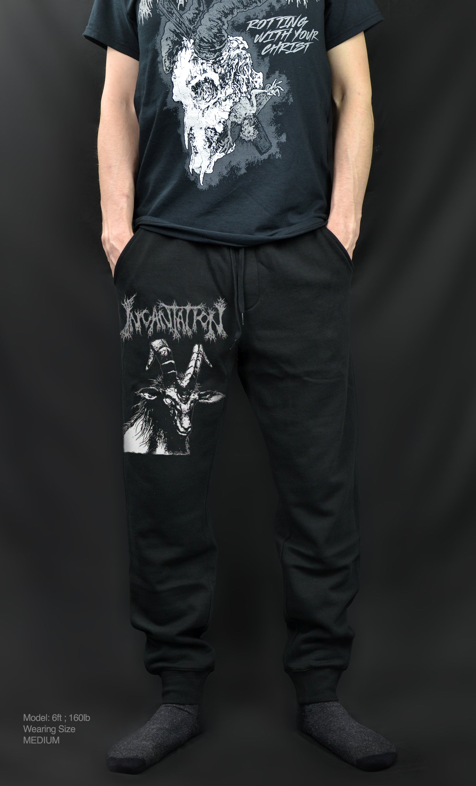 INCANTATION - Horrific Goat ( JOGGER SWEATPANTS )
