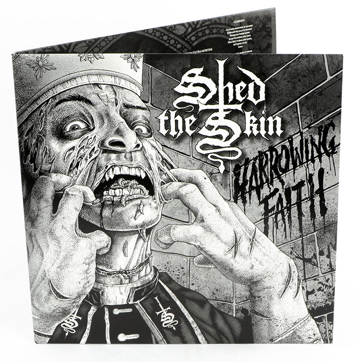 "SHED THE SKIN - Harrowing Faith (12"" Gatefold LP on Black Vinyl w/ Poster)"