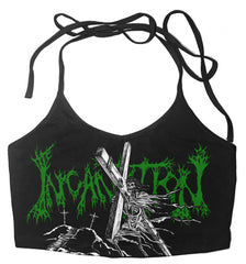INCANTATION - Onward to Golgotha (Thin Strap Halter Top)