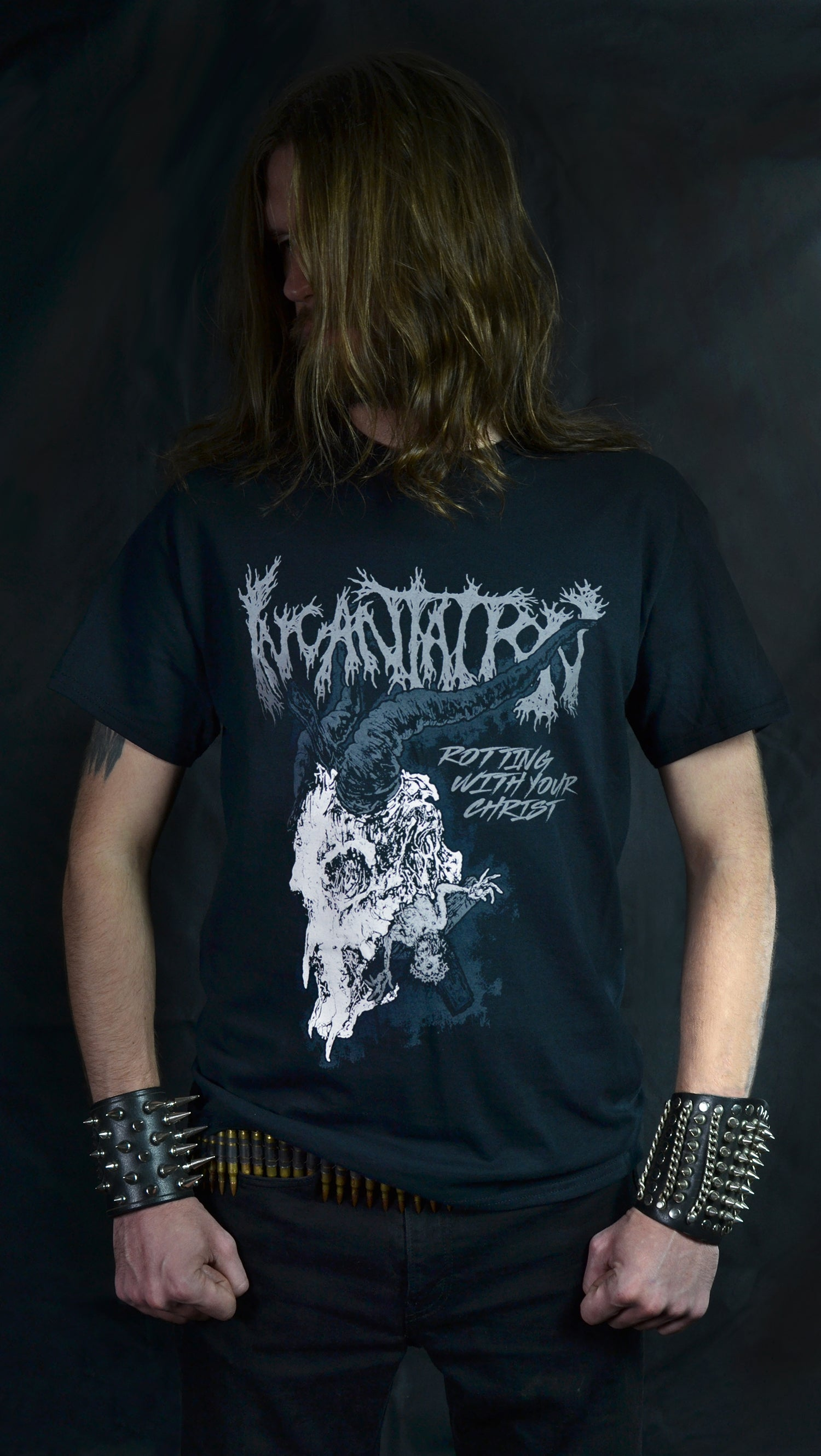 INCANTATION -  Rotting Christ Tour 2019  (T-SHIRT)