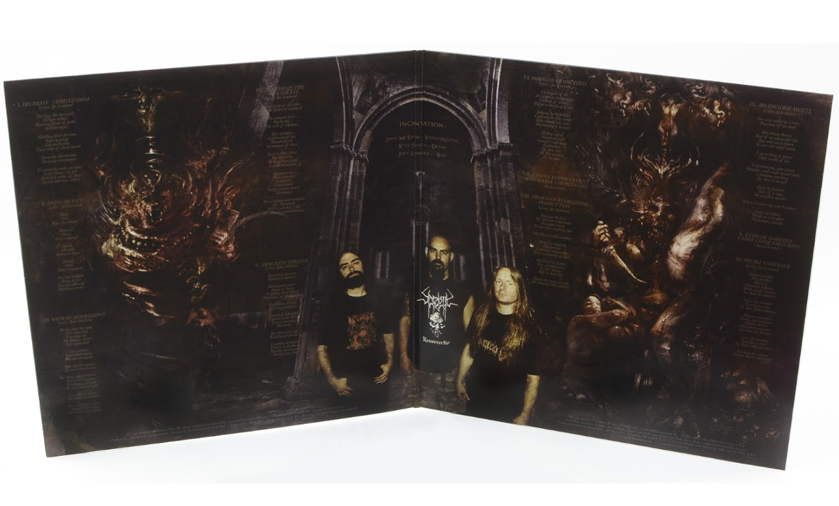 "INCANTATION - Decimate Christendom (12"" Gatefold LP on Colored Vinyl)"