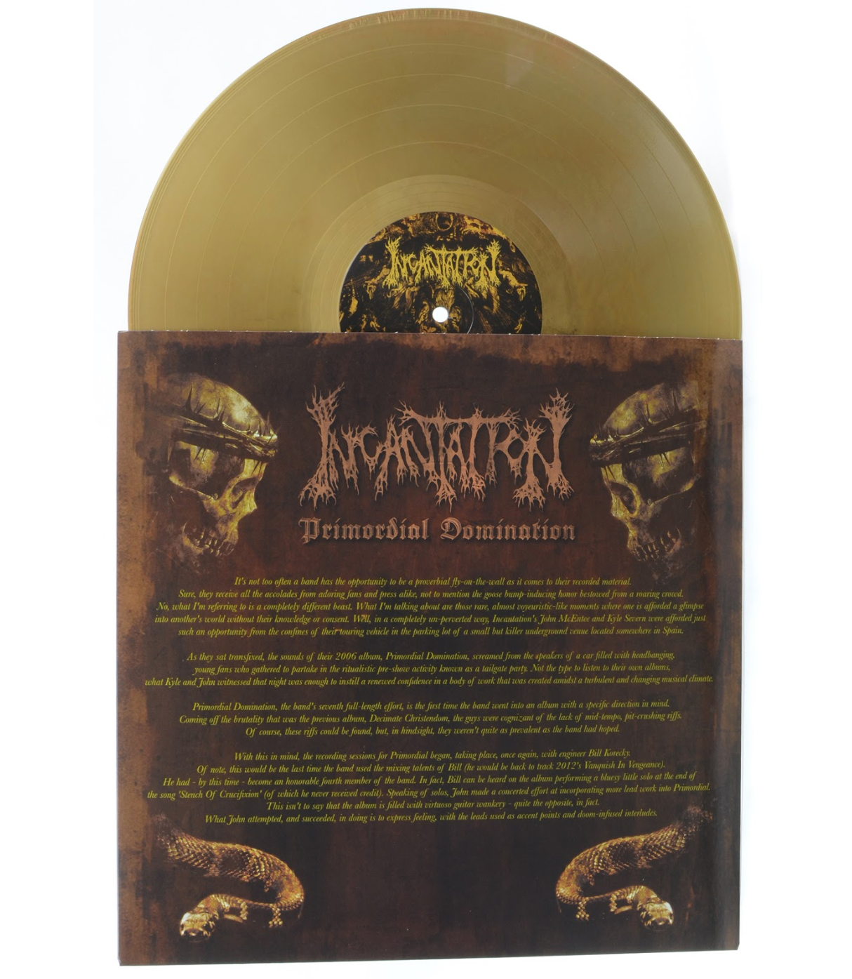 "INCANTATION - Primordial Domination (12"" Gatefold LP Vinyl)"