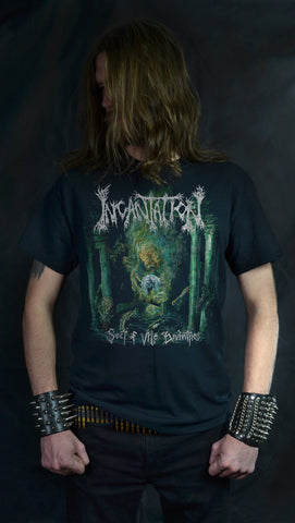 INCANTATION - Sect Of Vile Divinities  - (2-SIDED T-Shirt)