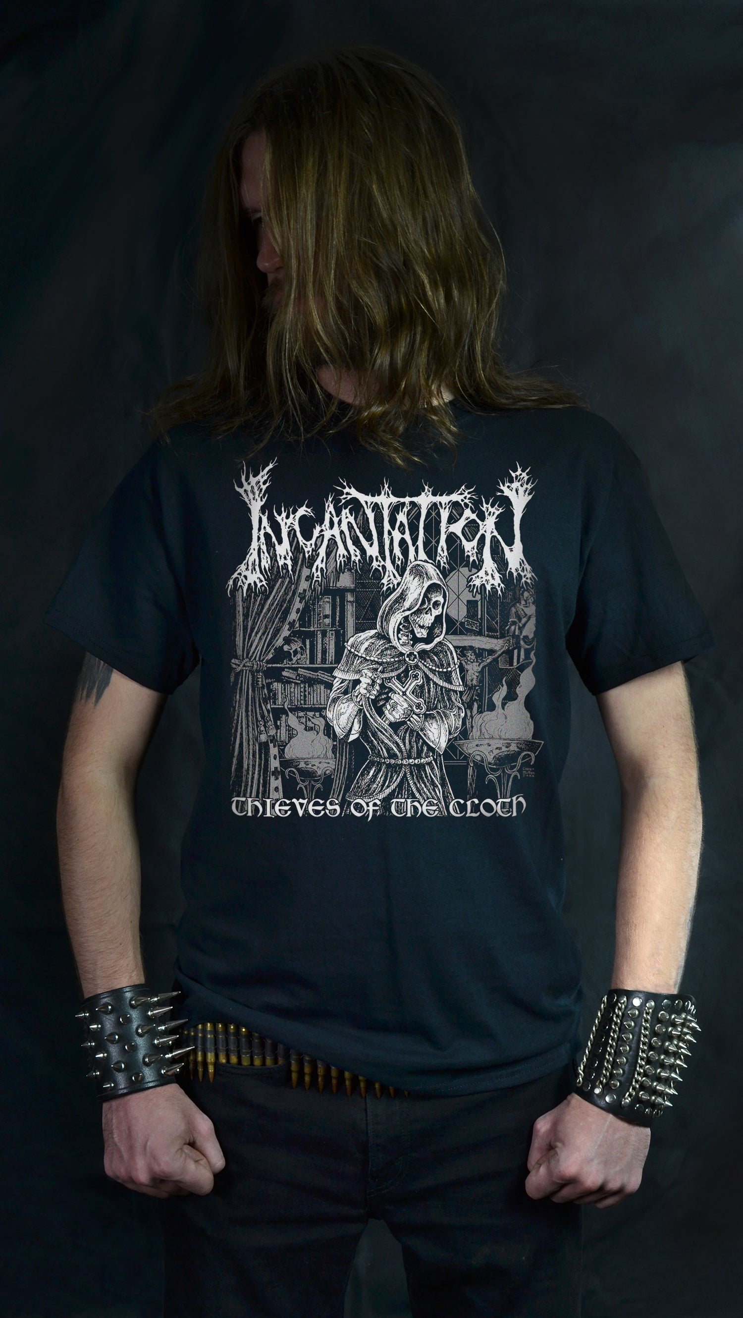 INCANTATION - THIEVES OF THE CLOTH (T-SHIRT -OR- GIRLIE)