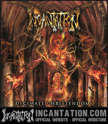 Incantation - Decimate Christendom Vinyl