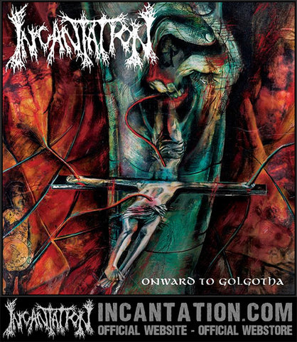 Incantation - Onward To Golgotha Limited Edition Silver Vinyl