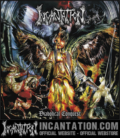Incantation - Diabolical Conquest 2x Black Vinyl