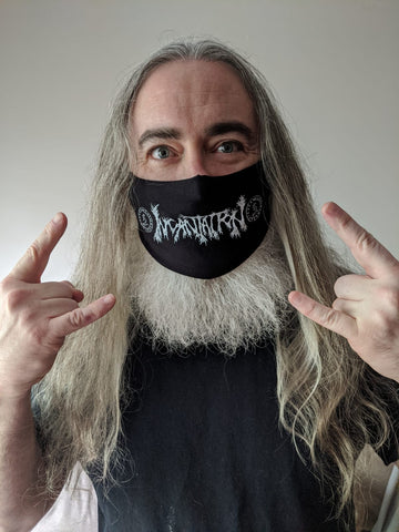 INCANTATION - Logo [FACE MASK]