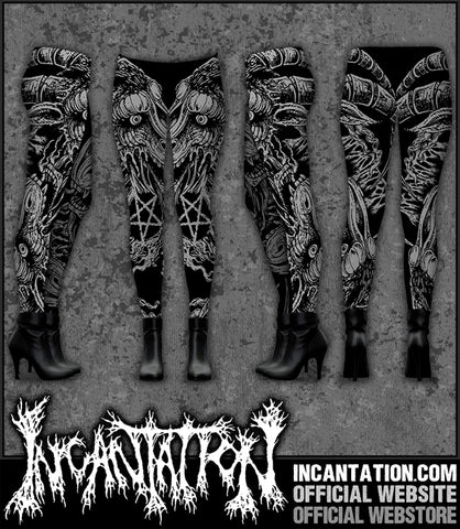 Incantation - Scapegoat Gray Leggings