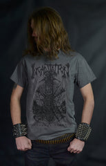 INCANTATION -  Nocturnal Kingdom - US Sickness Tour 2019 ( GRAY T-SHIRT)