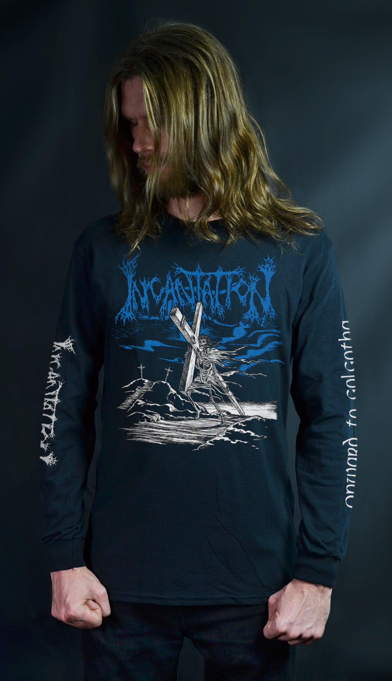 INCANTATION - Onward to Golgotha (Moyen Art) (LONG SLEEVE)