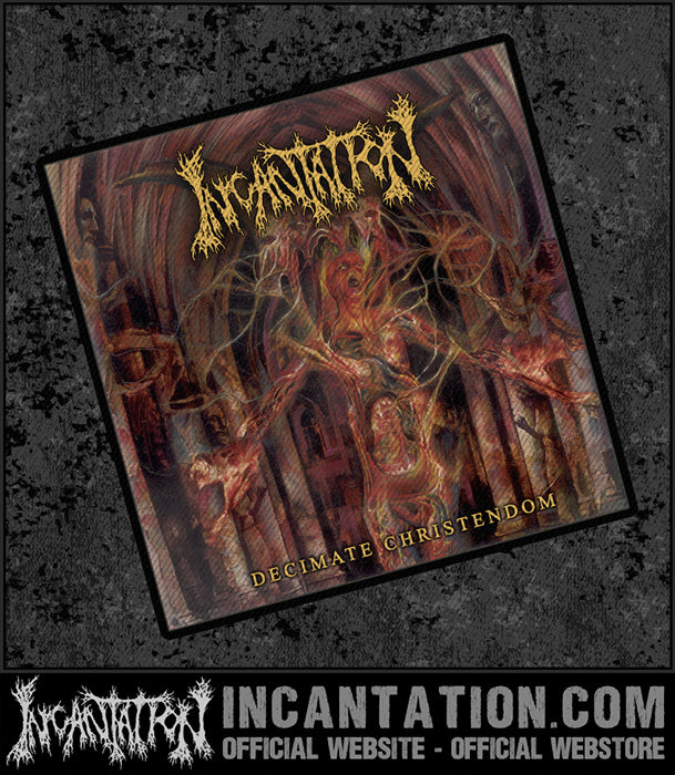 Incantation - Decimate Christendom Patch