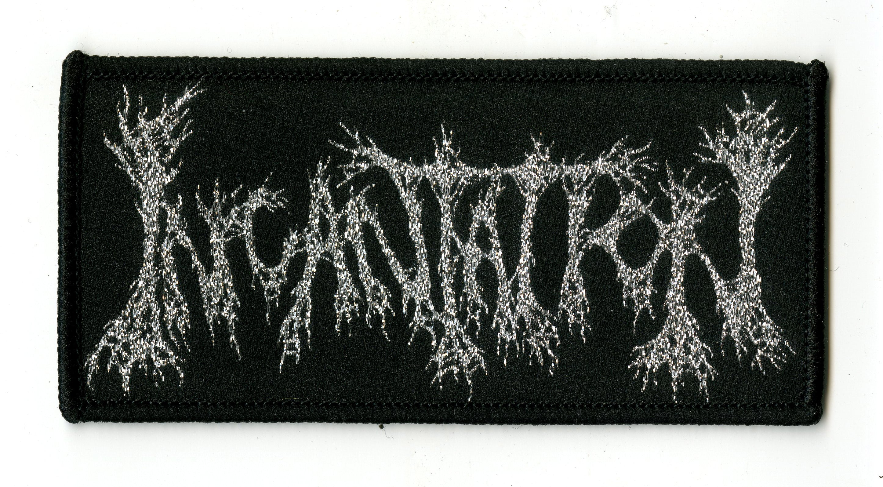 INCANTATION - Silver Logo [Woven Patch]