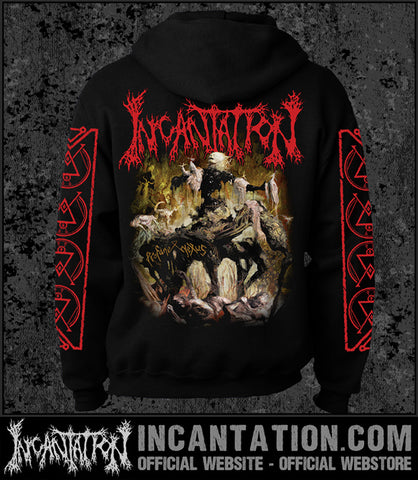 ' - Incantation - Profane Nexus [Zipup Hooded Sweatshirt]