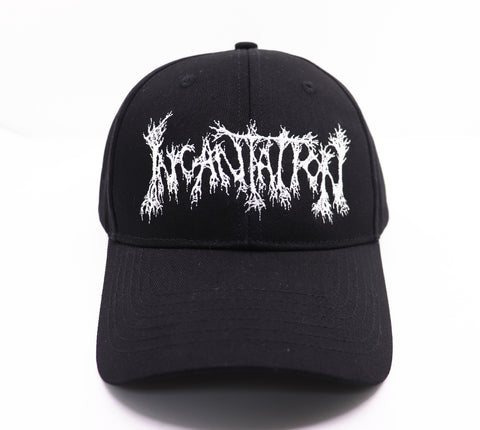 INCANTATION - Logo [Embroidered CAP]