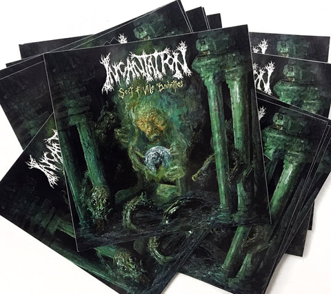 INCANTATION - Sect of Vile Divinities (STICKER)