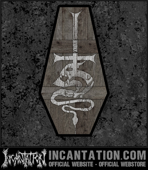 Shed The Skin - Coffin Logo Patch
