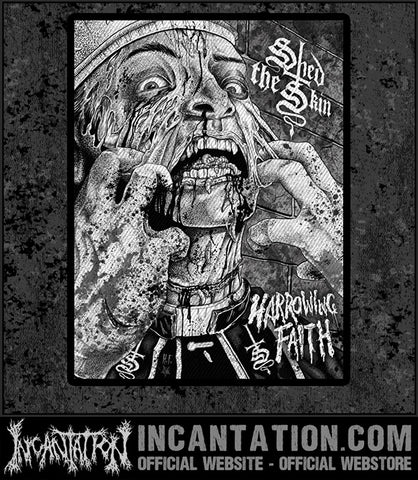 Shed The Skin - Harrowing Faith Cover Patch