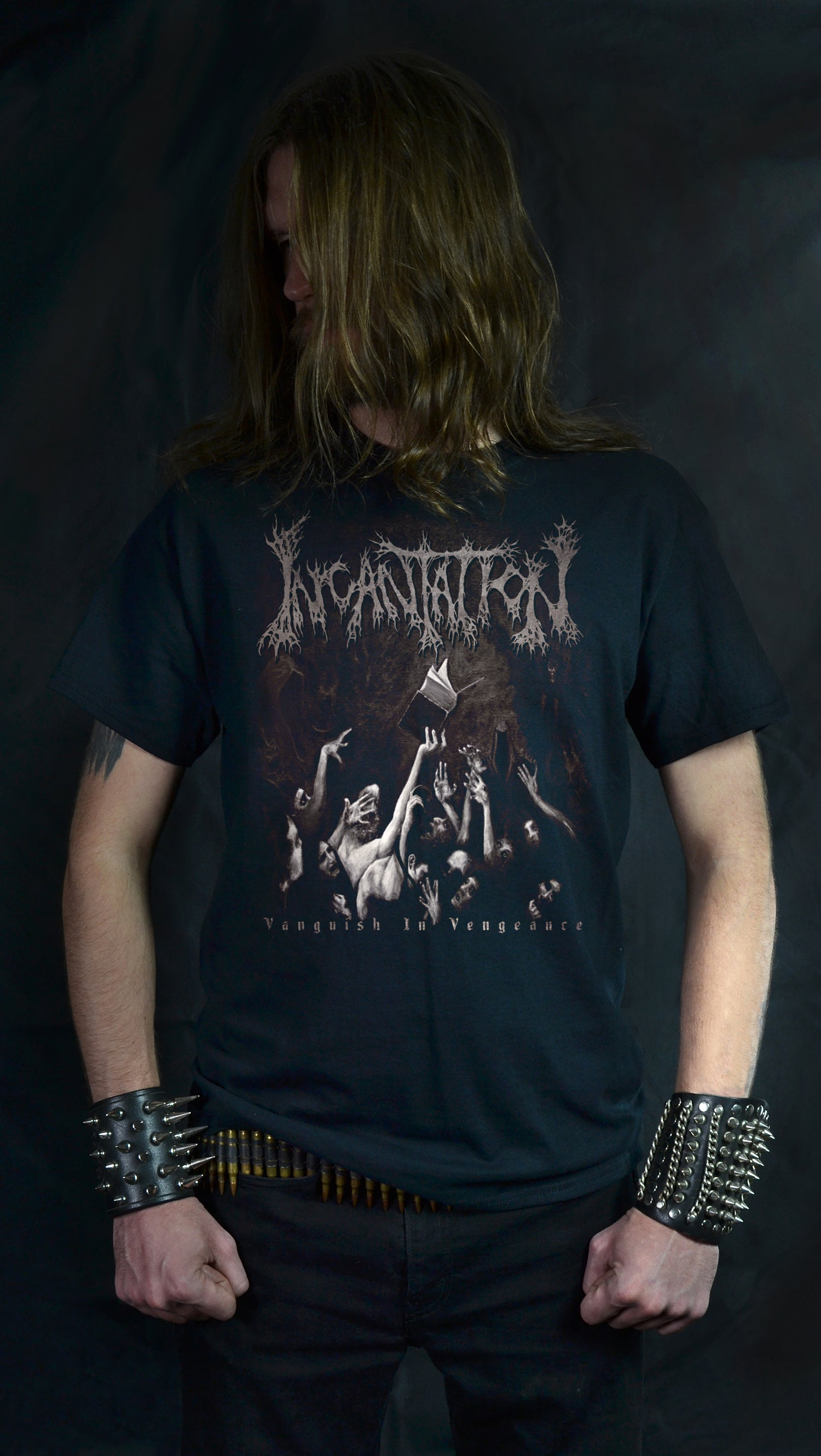 INCANTATION - Vanquish in Vengeance (T-SHIRT -OR- GIRLIE)