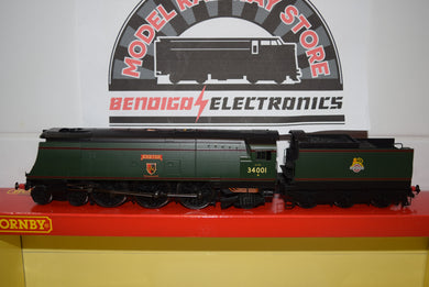 Hornby R3115 BR 4-6-2 UNREBUILT WEST COUNTRY CLASS EXETER DCC READY