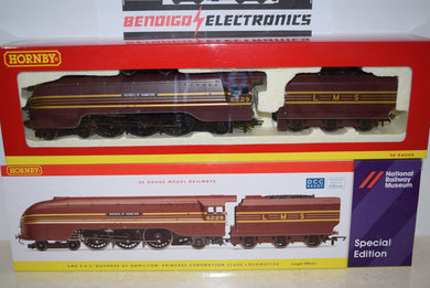 Hornby R3101 LMS 4-6-2 CORONATION CLASS LOCO 6229 DUCHESS OF HAMILTON NATIONAL RAILWAY MUSEUM SPECIAL EDITION